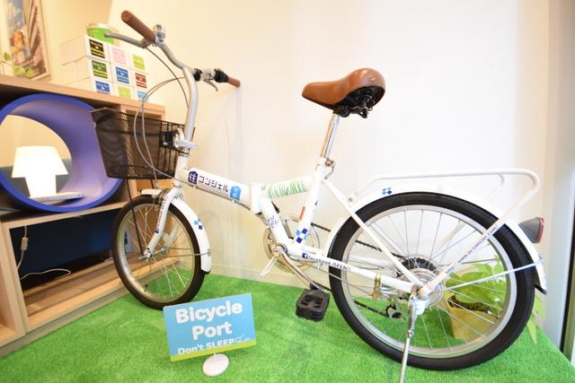 自転車カッティング施工